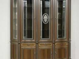 """Витрина 3-х дверная """"Палермо"""" из массива древесины"""