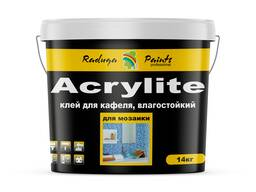 """Влагостойкий акриловый клей для кафеля """"Acrylite"""", 3, 5 кг"""