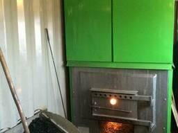 Водогрейная высокотемпературная печь для обогрева помещении - фото 2
