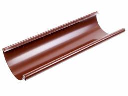 Водосток круглого сечения пластик ПВХ коричневый