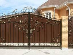 Ворота распашные, откатные
