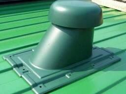 Выход вентиляции на профлист Ø110/200 (Под Заказ)