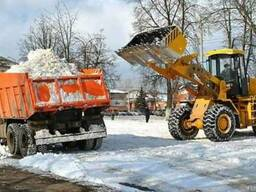 Вывоз и уборка снега в Караганде.