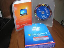 Windows 7 Profesional BOX 64 Bit russian
