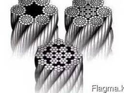 Wire rope and steel wire rope, galvanized, stainless accordi