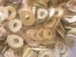 Яблоки сушеные нарезанные кольцами