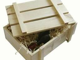 Ящики деревянные упоковочные подарочные для вина