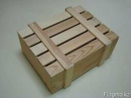 Ящики Упаковочные Подарочные с крышкой деревянные