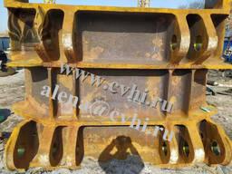 Задняя и передняя стенка ковша 08ГДНФЛ запчасти экскаватора