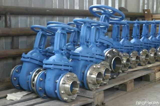 Задвижки стальные, чугунные фланцевые, ДУ от 50мм до 800мм.