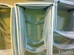 Замена уплотнителя дверей холодильника.