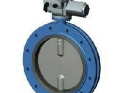 Затвор дисковый поворотный фланцевый с электроприводом