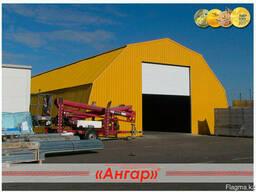 Завод «Ангар» предлагает изготовление арочных ангаров - photo 2