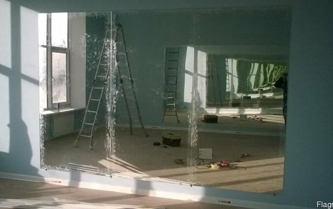 """Зеркала для танцевальных залов. Установка зеркал под """"ключ""""."""