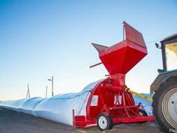 Зерно-упаковочная машина с большим верхним бункером загрузки