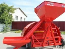 Зерно-упаковочная машина с дополнительным нижним бункером