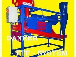 Зернолущилка центробежная с аспирацией FTF - system
