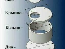 ЖБИ Кольца, Крышки, Днища для септика и канализации