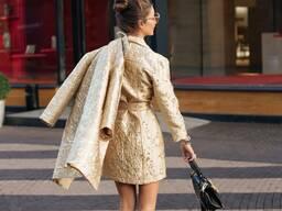 """Женское пальто """"Золото"""""""