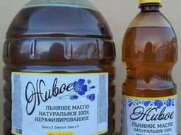 """""""Живое"""" льняное масло,100% натуральное - фото 3"""
